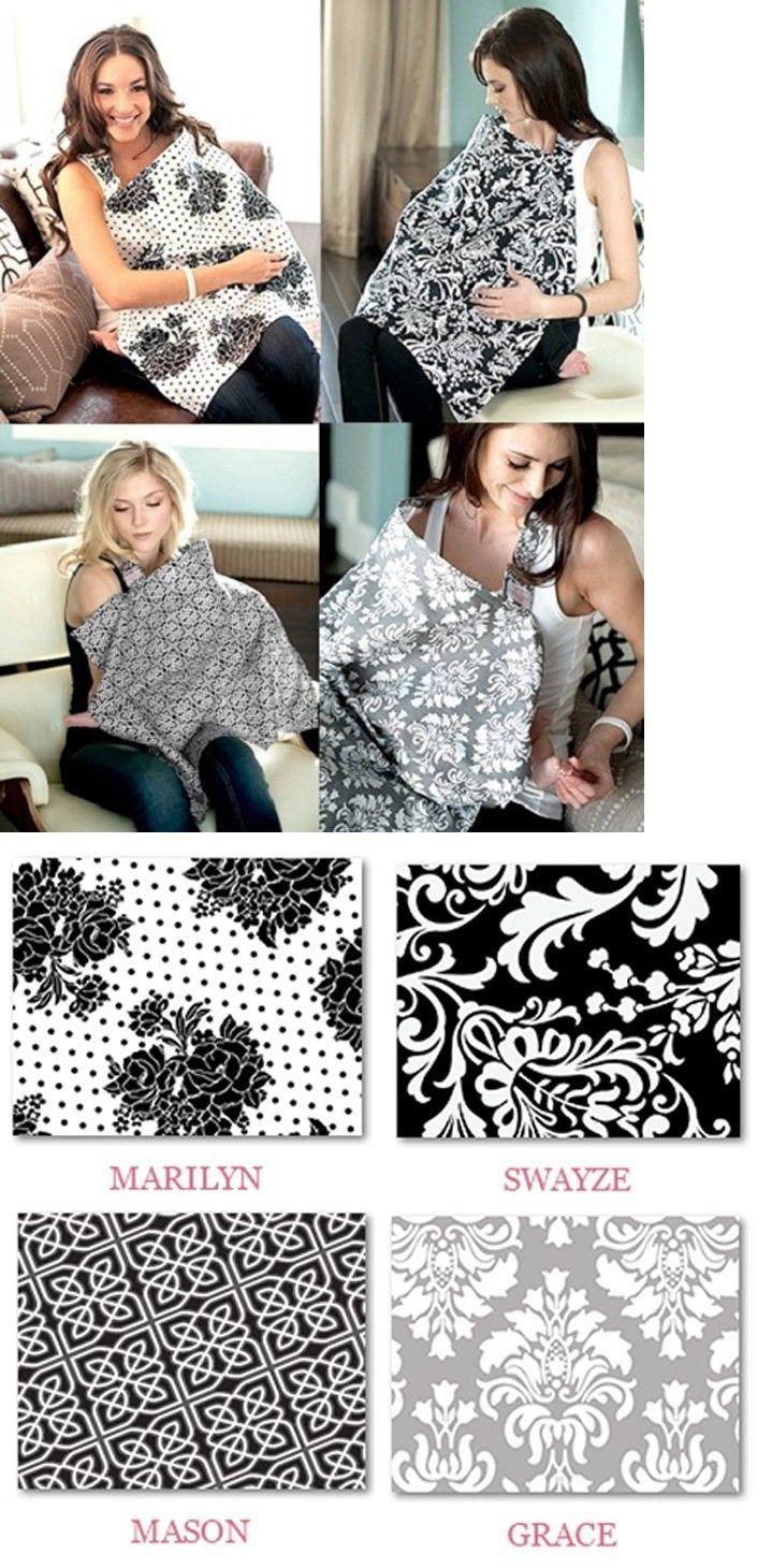 Black Udder Covers Breast Feeding Nursing Cover Swayze