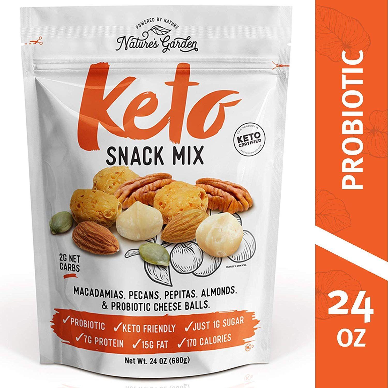 Nature S Garden Keto Snack Mix 24 Oz Keto Snacks Good Keto Snacks Snacks