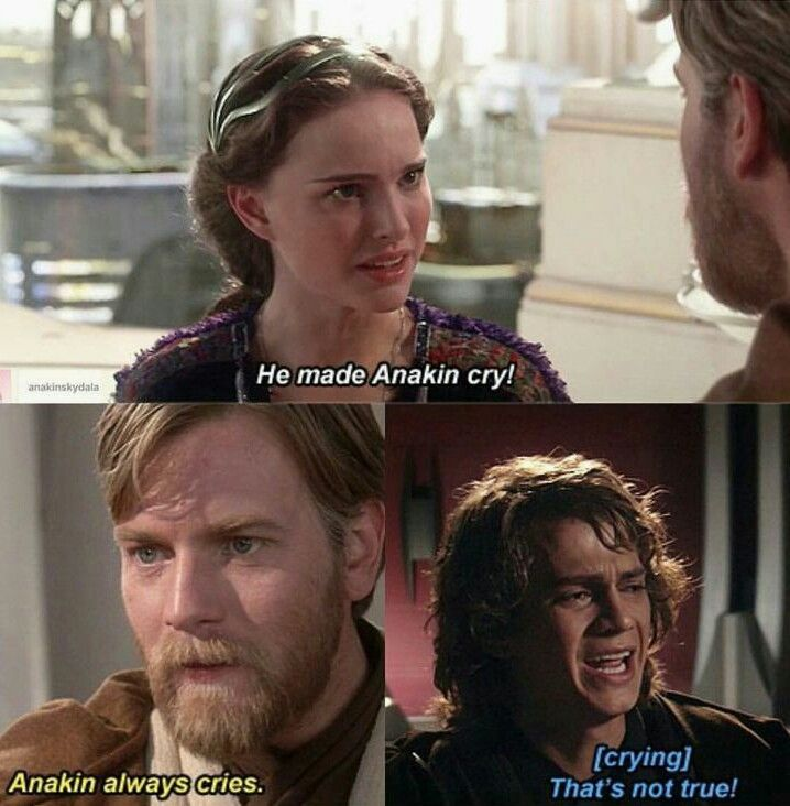 Anakin Quotes: LOL!! (Yeah... I'm A Jerk...)