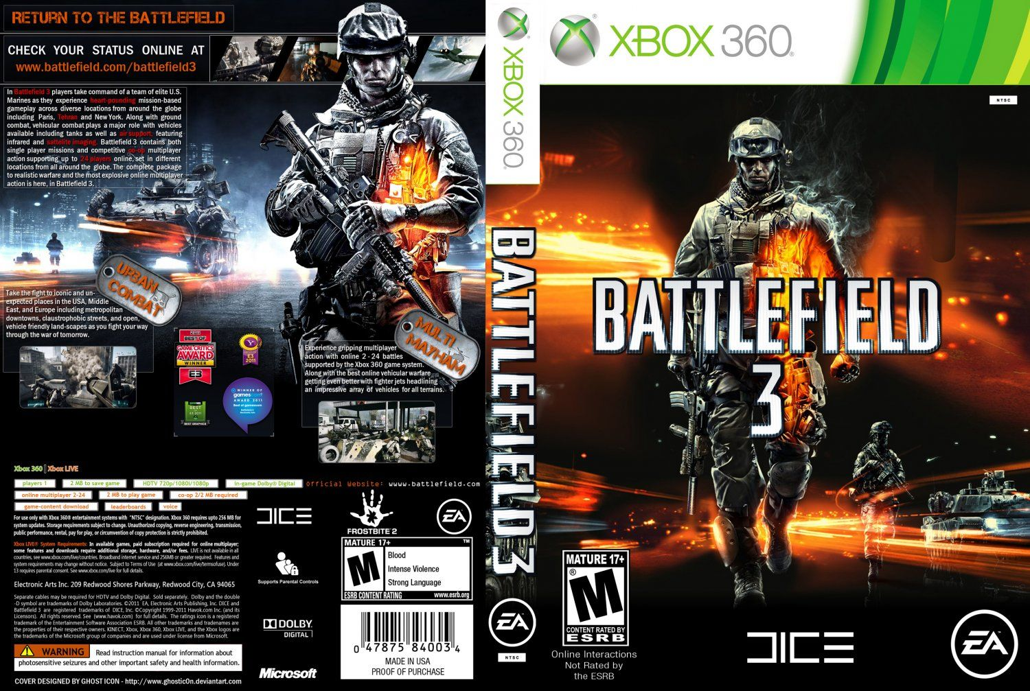 Xbox Game Covers Google Search Battlefield Battlefield 3