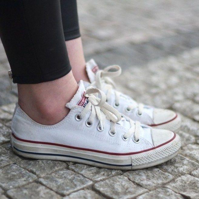 zapatos converse blanco mujer