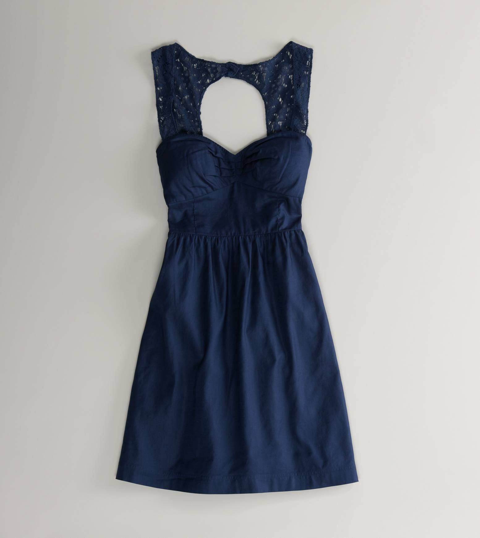 American Eagle Navy Blue Dress; Perfect For Our Laid Back