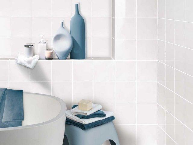 Maioliche bagno ~ Rivestimento bagno bianco rivestimenti bagno