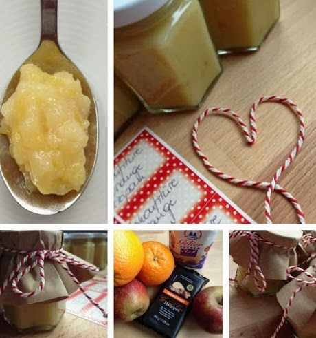 Rezept: Winterkonfiüre Apfel-Orange-Marzipan