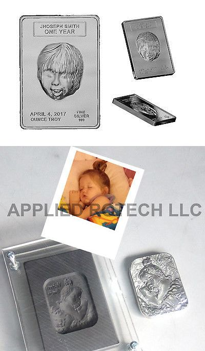 Jewelry Molds 67711: Custom Portrait Molds In Graphite For