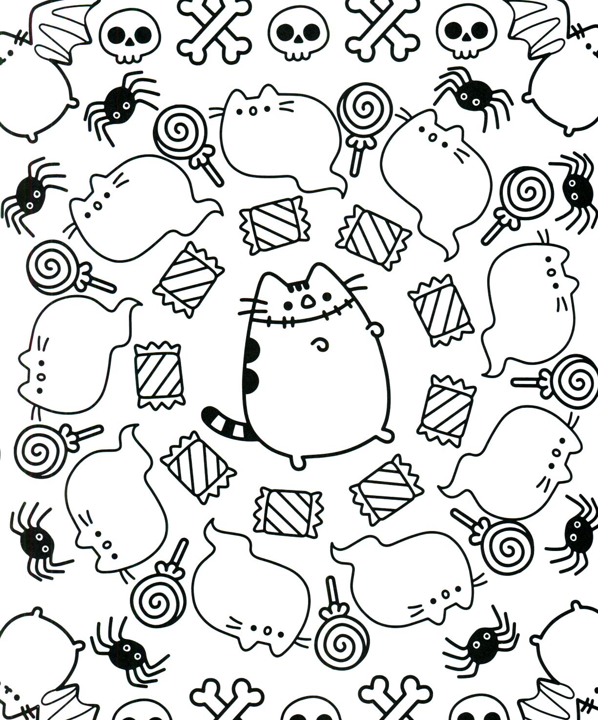 Pusheen Coloring Book Pusheen Pusheen The Cat Pusheen Coloring Pages Cute Coloring Pages Coloring Books