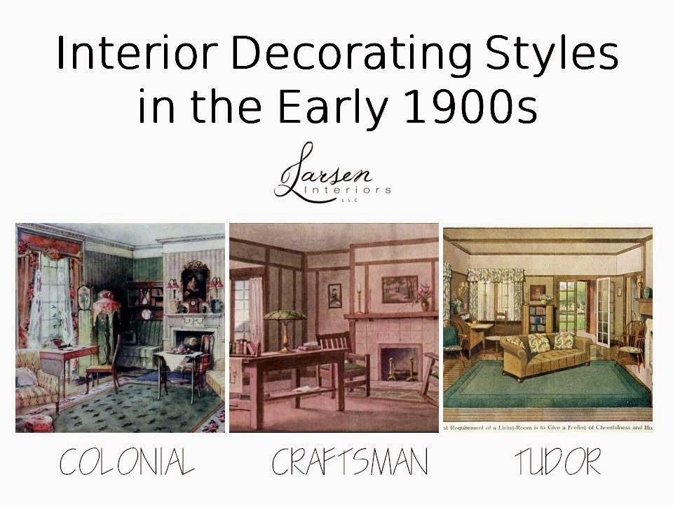 larsen interiors llc early 1900s part 3 interior on popular color for interior house id=31291