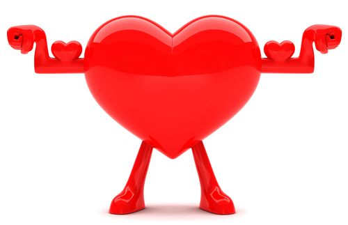 This heart is in prime shape for love!