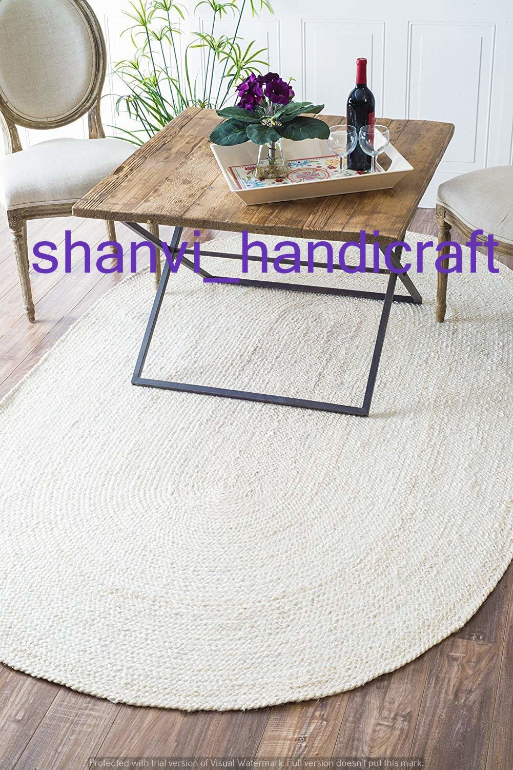 Indian Hand Braided Bohemian White Chindi Cotton Area Rug Oval Shape Mat Durri Custom size available Home Decorative Jute Rug Rags Carpet ,  #Area #Bohemian #Braided #braidedRugsoval #carpet #Chindi #Cotton #Custom #Decorative #Durri #Hand #Home #Indian #Jute #mat #Oval #rags #Rug #Shape #Size #White