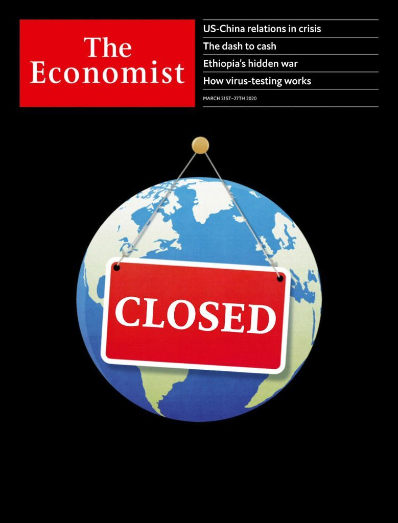The Economist UK edition Back Issue March 21, 2020 ...
