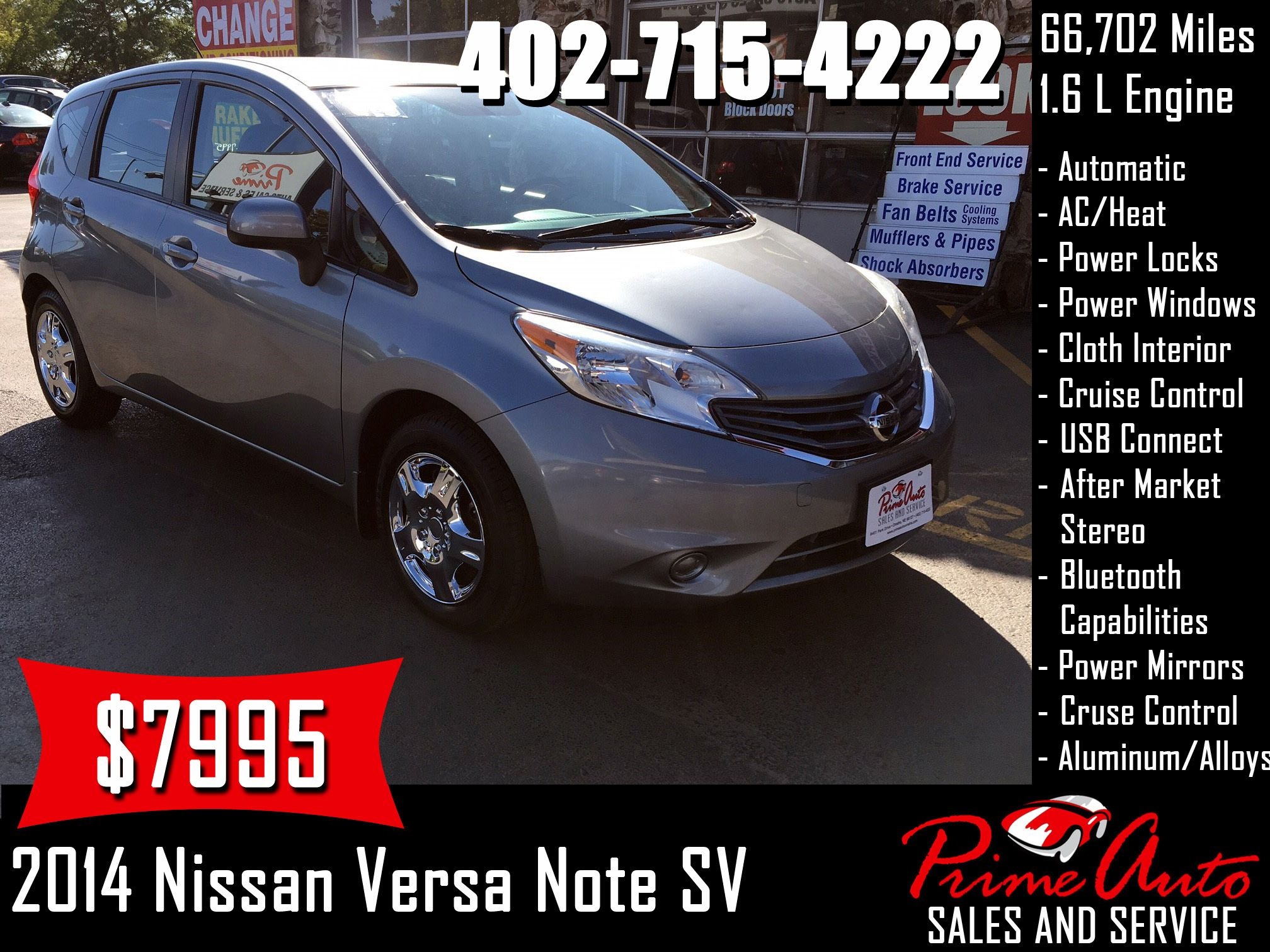 2014 Nissan Versa Note Cv Call Us Today 402 715 4222 Nissan Versa Note Hatchback Cars Auto Omaha Carsforsale Buyme Prime In 2020 Nissan Versa Ac Heating