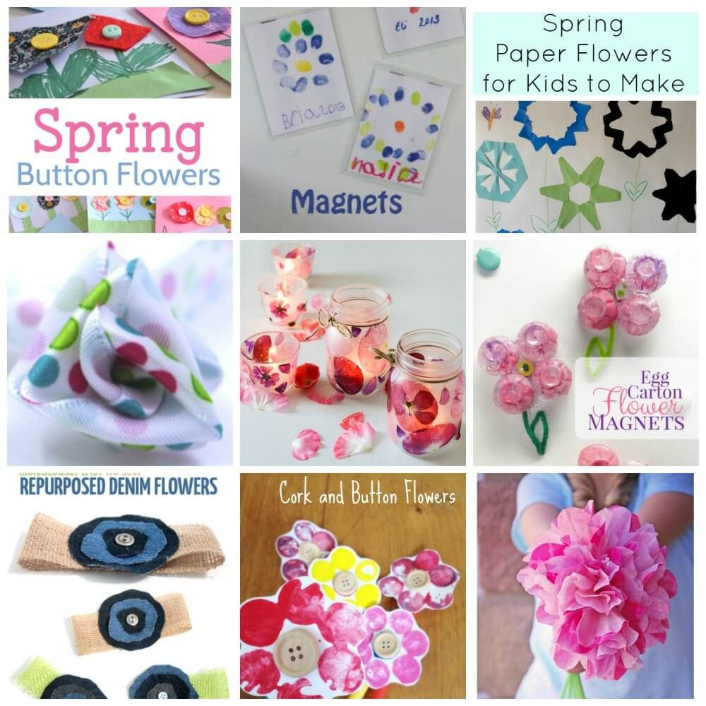 Make These Simple And Fantastic Flower Crafts With Your Kids Today