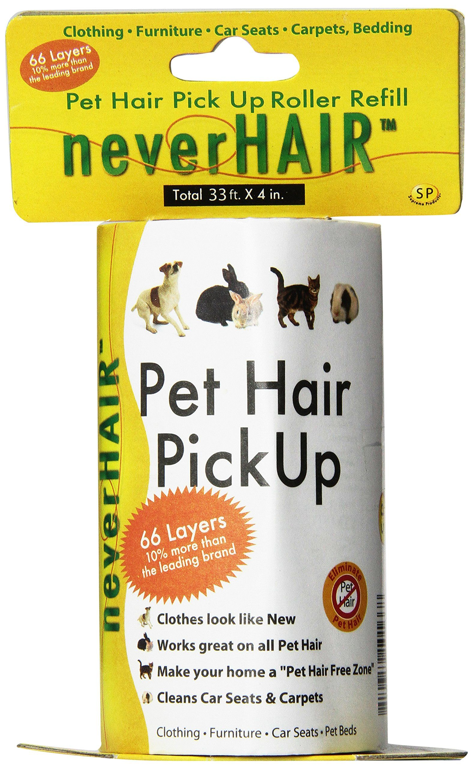 Savory Prime NeverHair Pick Up Roller Refills * You can