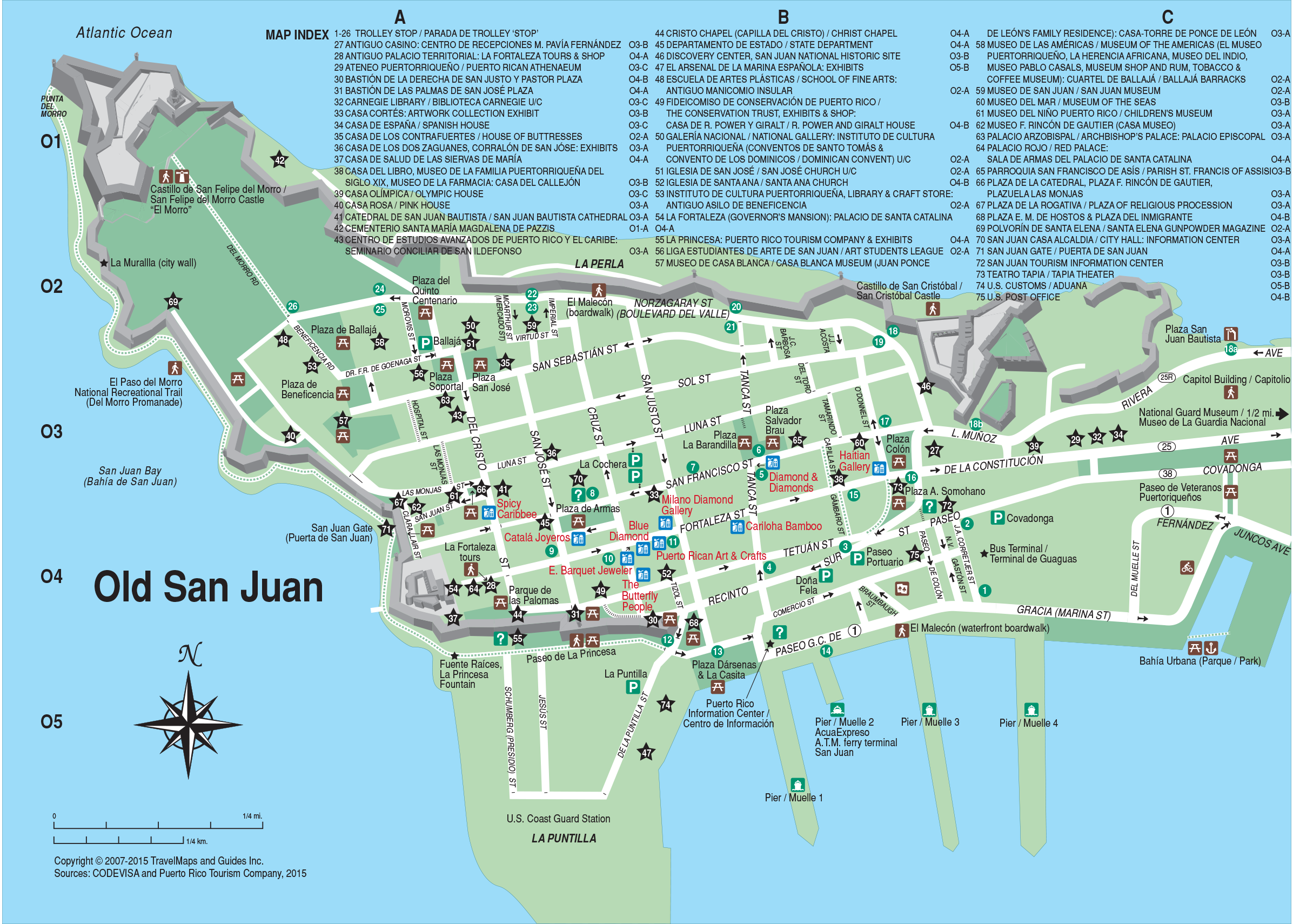 It is a picture of Ridiculous Printable Map of Puerto Rico