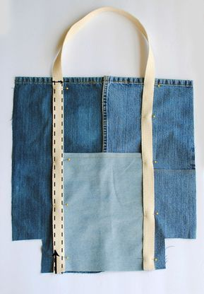 Photo of Earth Day DIY: Upcycled Jeans Tote Bag