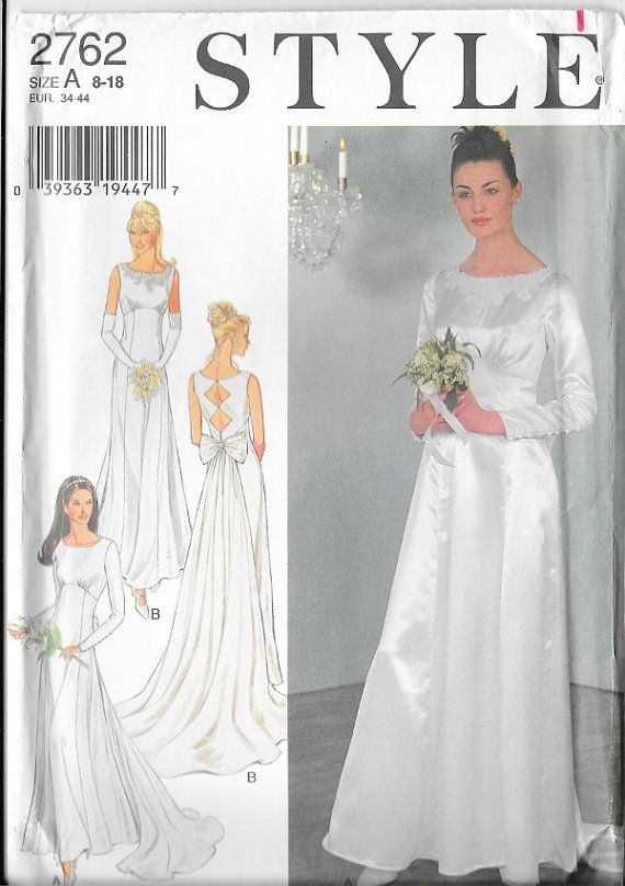 Wedding gown pattern with diamond cut outs in by ZimmergirlzBazaar