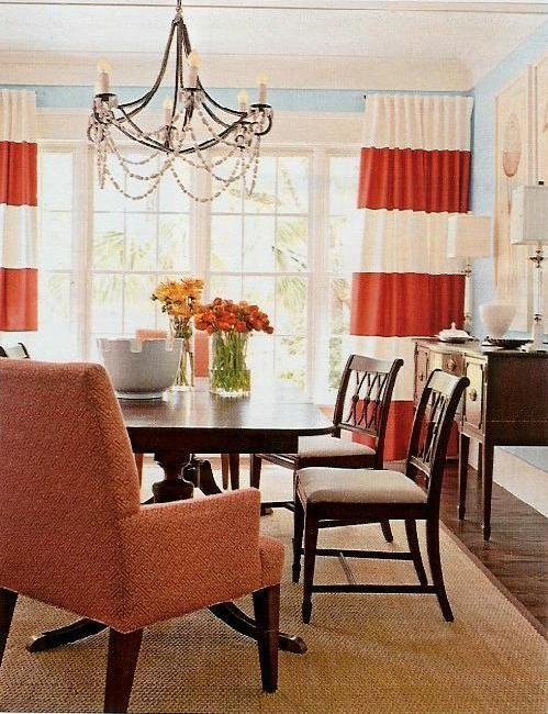 Horizontal Striped Curtain Inspiration