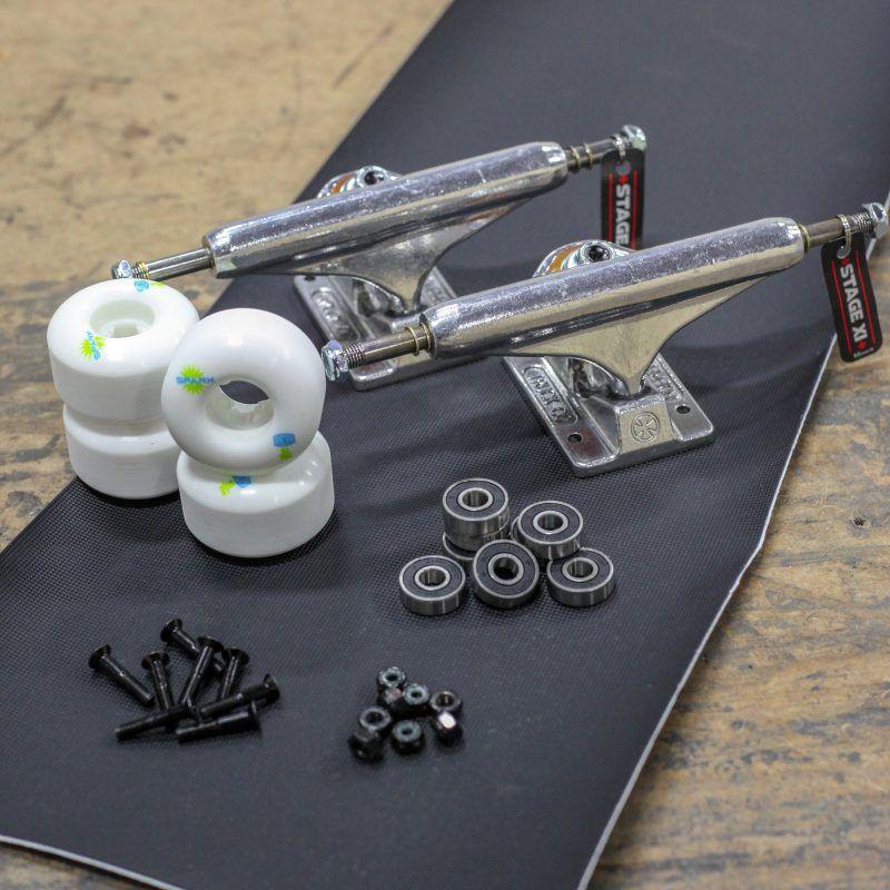 Full Skateboard Set Up Accessories Package Skateboard Accessories Settings