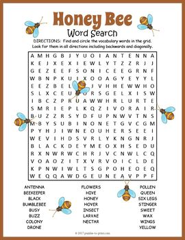 Area And Perimeter Of Compound Shapes Worksheets Excel Honey Bees Word Search  Word Search Puzzles Word Search And  Line Plot Worksheets With Fractions Excel with Free Halloween Worksheets Honey Bee Word Search Puzzle Worksheet Quadratic Applications Worksheet Excel