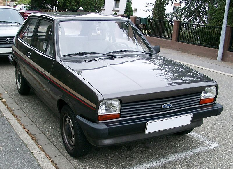 1978 Ford Fiesta This Is Not The Us Version Which Came With Round Headlights Production Was Only 3 Years Unfortunately A Ford Fiesta Ford Fiesta Mk1 Ford