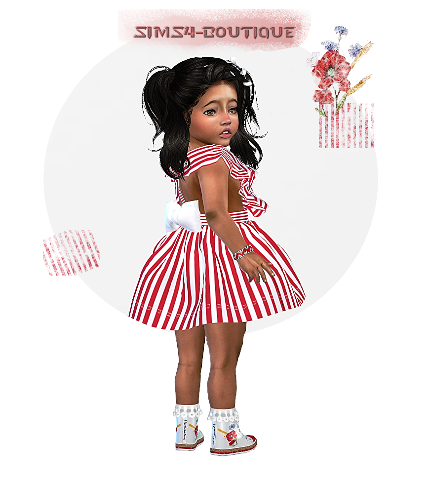 c3a8dd096 ☆ © Sims4-Boutique ♔: ☆ Designer Set for Toddler Girls TS4 ...