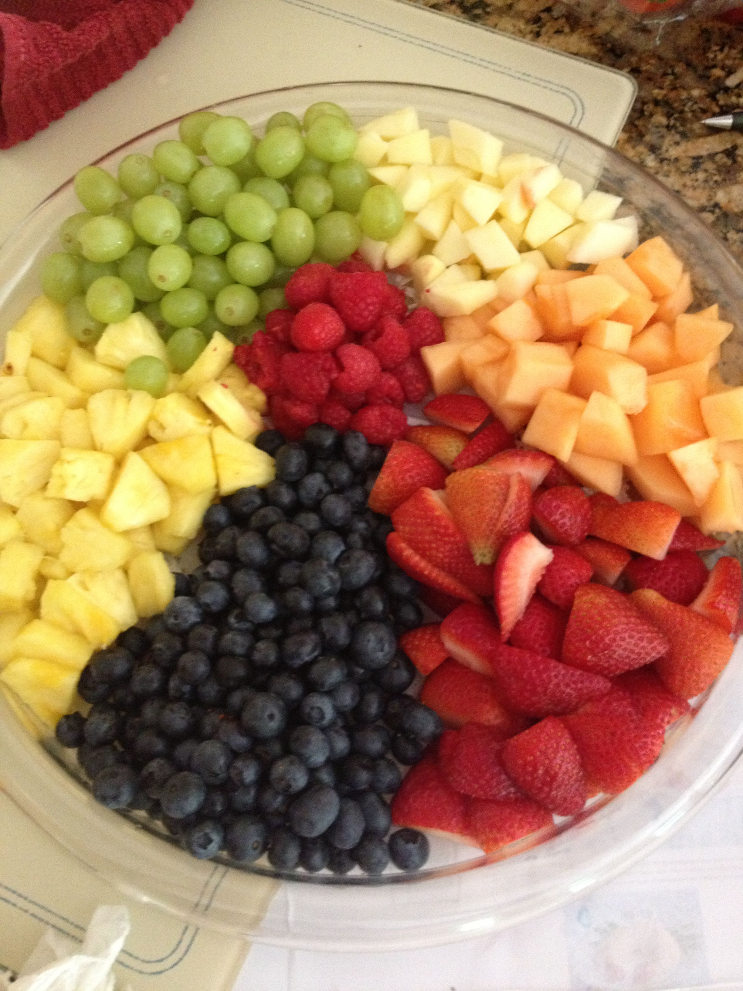 Beach Ball Fruit Tray