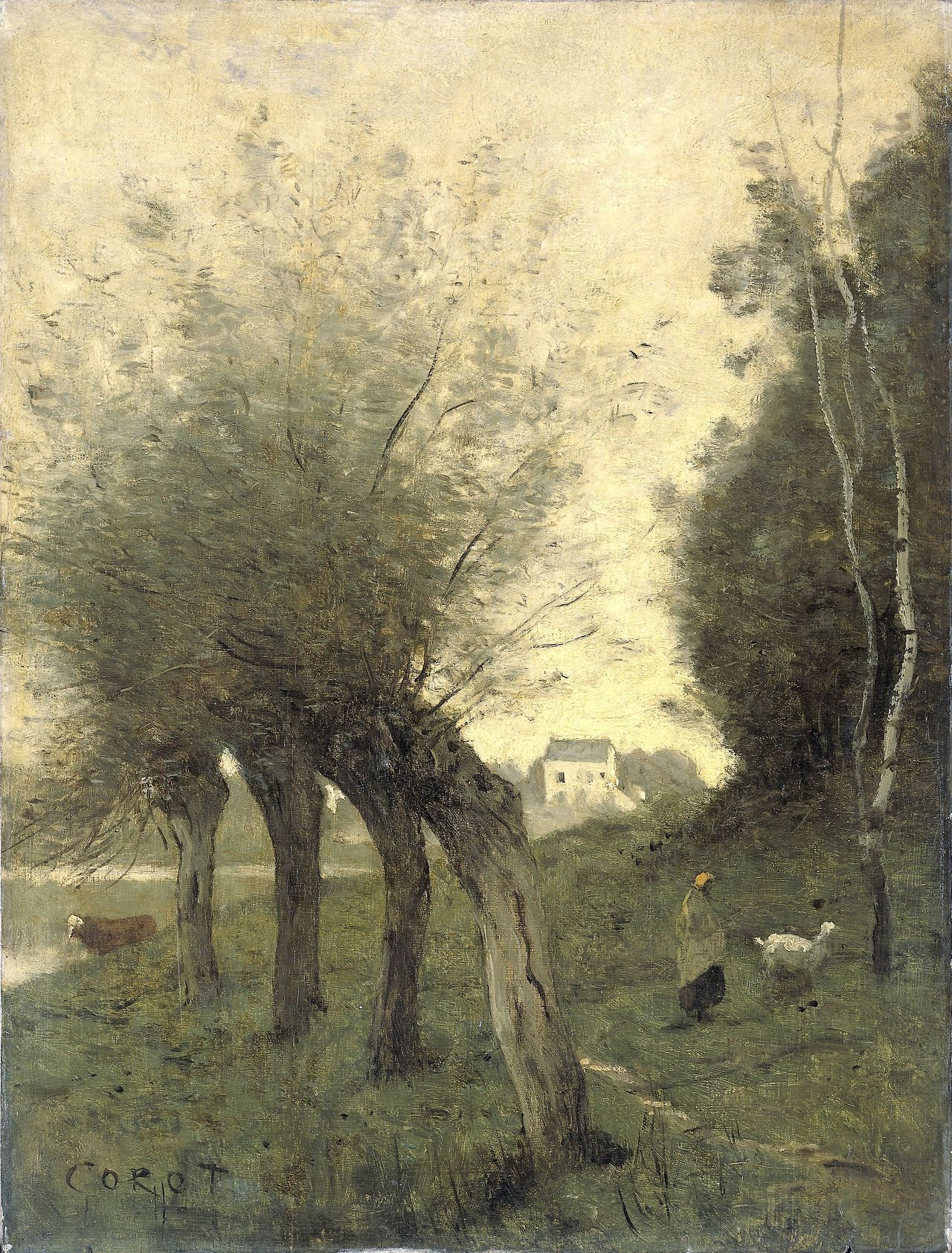Painterly Landscape Escape Landscape Painting By Camille