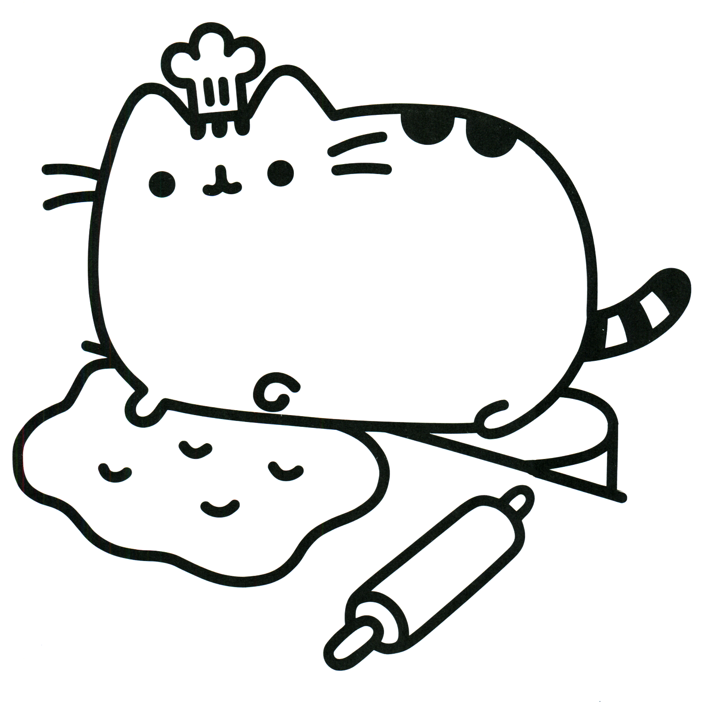 Pusheen Coloring Book Pusheen Pusheen the Cat | dessin | Pinterest ...