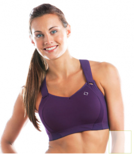 f56ddbf211 The best sports bra for nursing moms! Velcro straps are adjustable for  support and easy nursing.