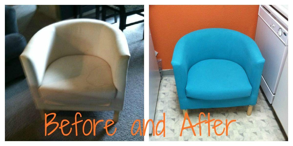 Pintar sillón