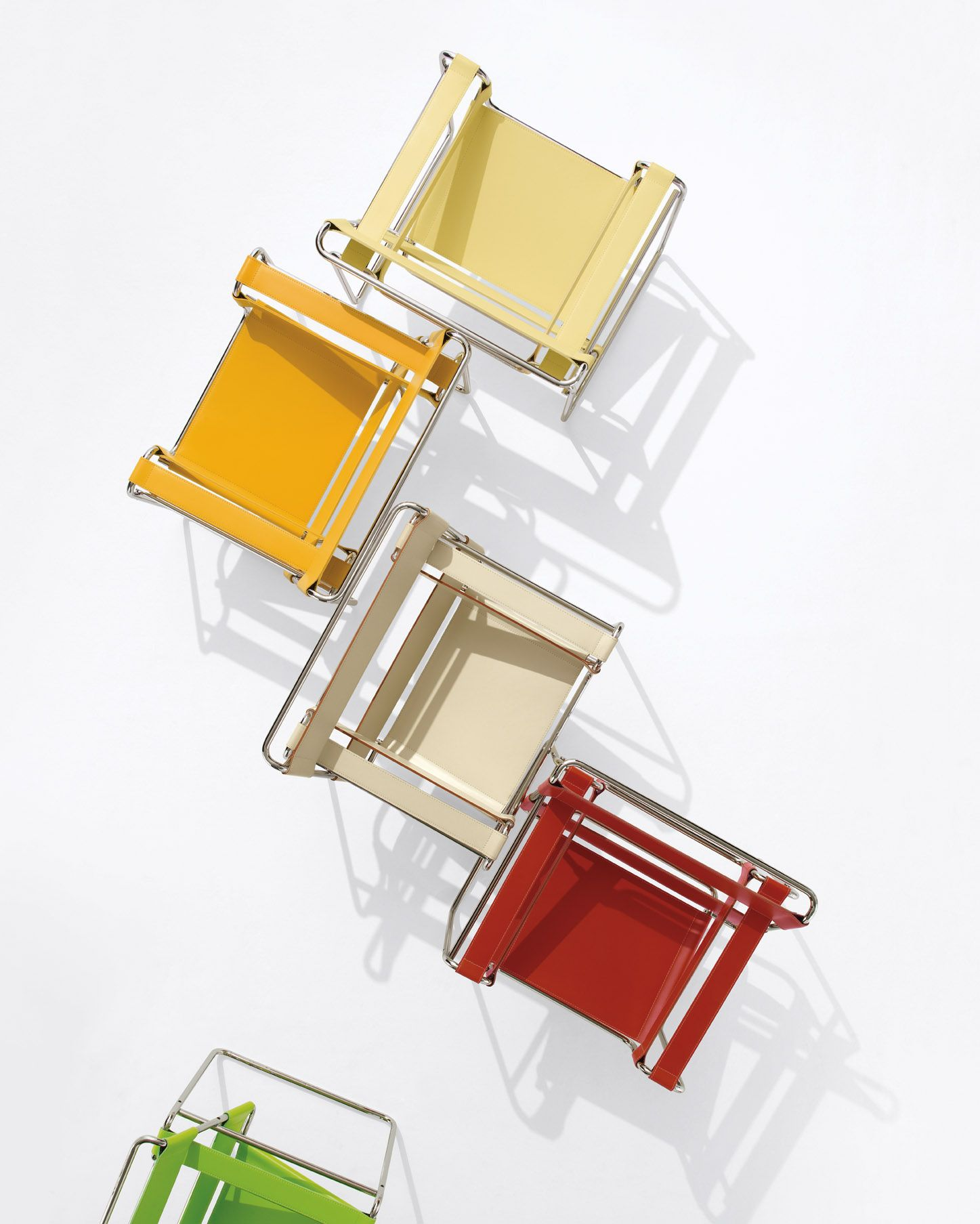 Marcel Breuers Bauhaus Icon, The Wassily Chair, In A New