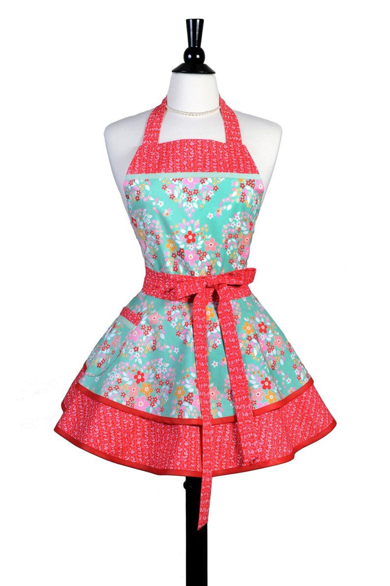 Vintage Inspired Womens Apron