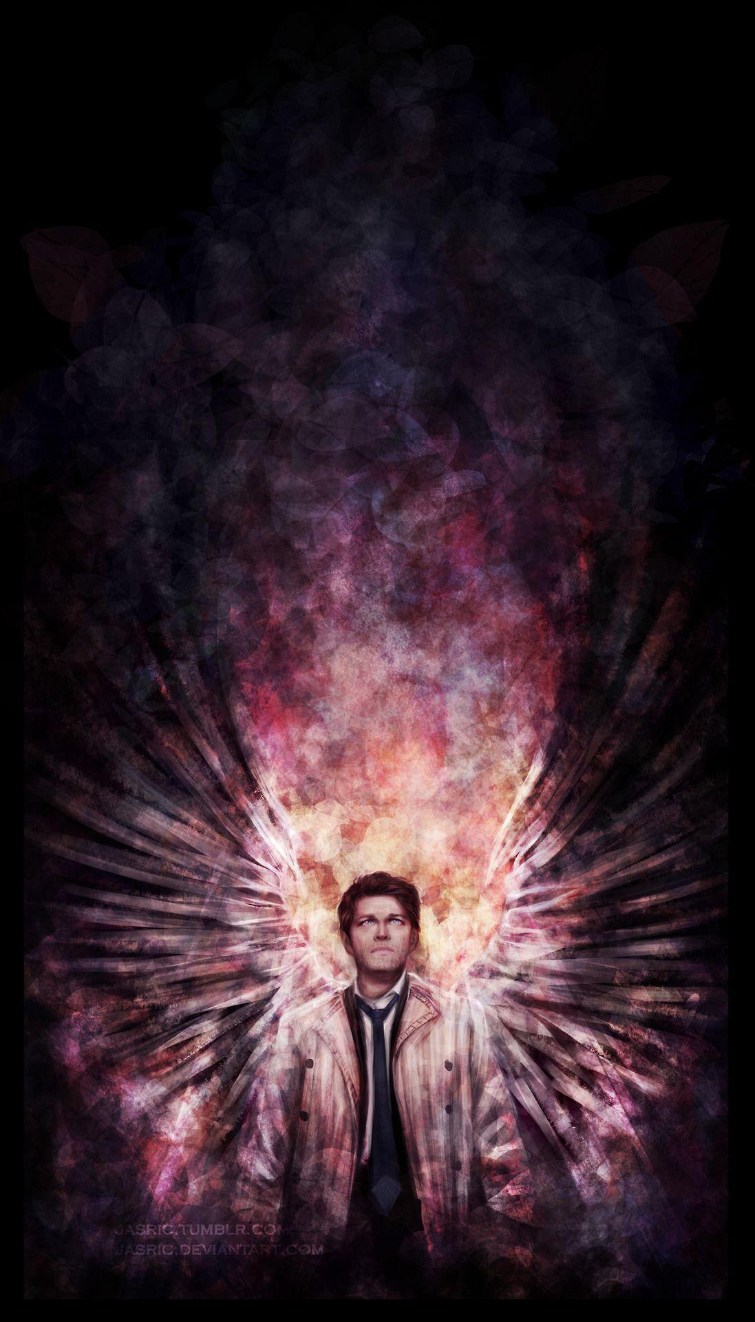 Castiel Supernatural wallpaper, Supernatural