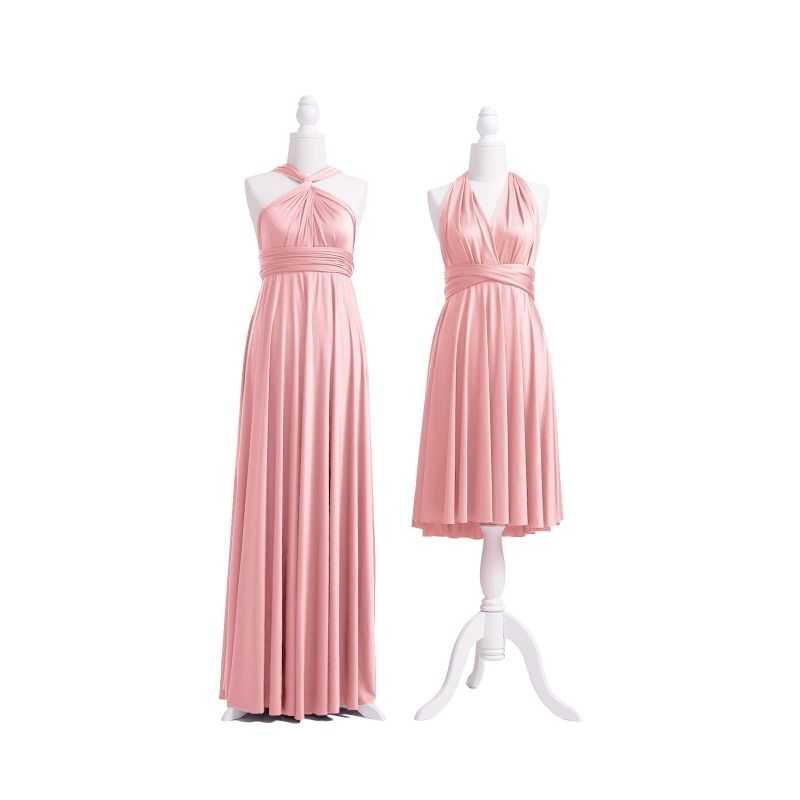 Dusty Rose Multiway Infinity Dress   Dusty rose bridesmaid ...