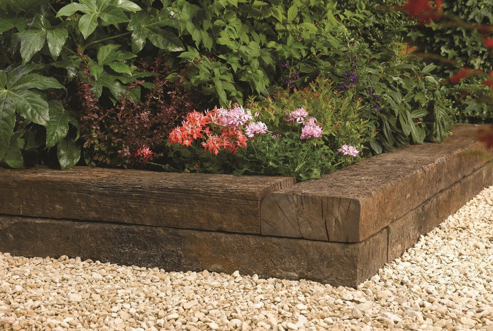 New & Reclaimed Railway Sleepers 1.3m - 2.6m FREE DELIVERY ...