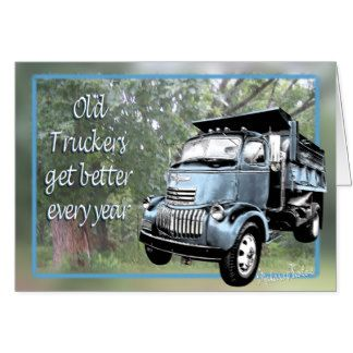 Happy Birthday Truck Driver