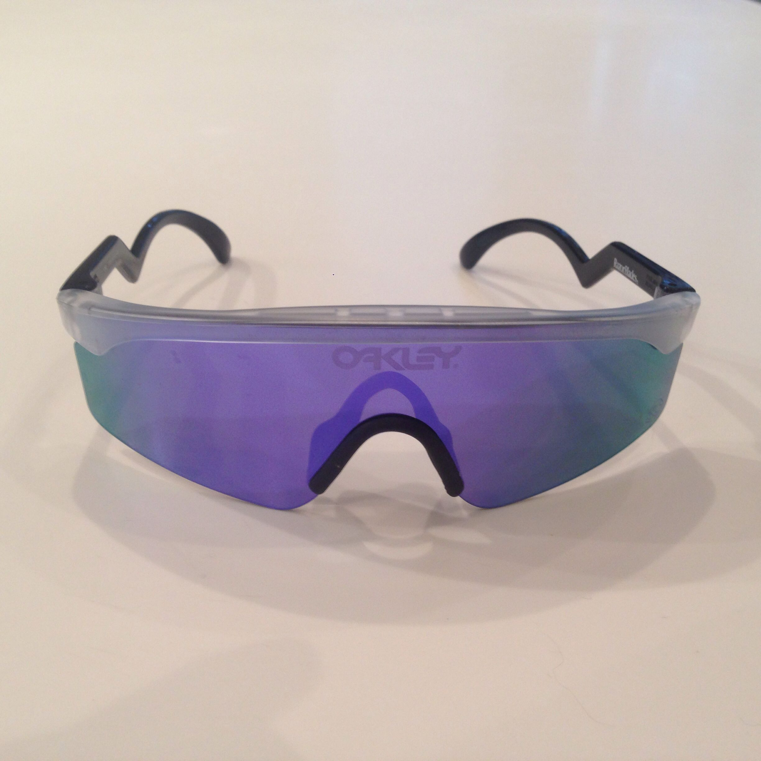1a3682a901 Cool cycling glasses. Oakley Heritage Razor Blades
