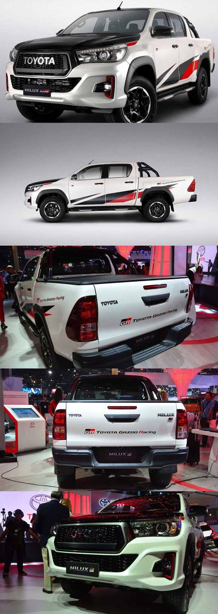 Toyota Hilux Gr Sport Toyota Hilux Pickup Toyota Hilux Toyota Toyota Accessories