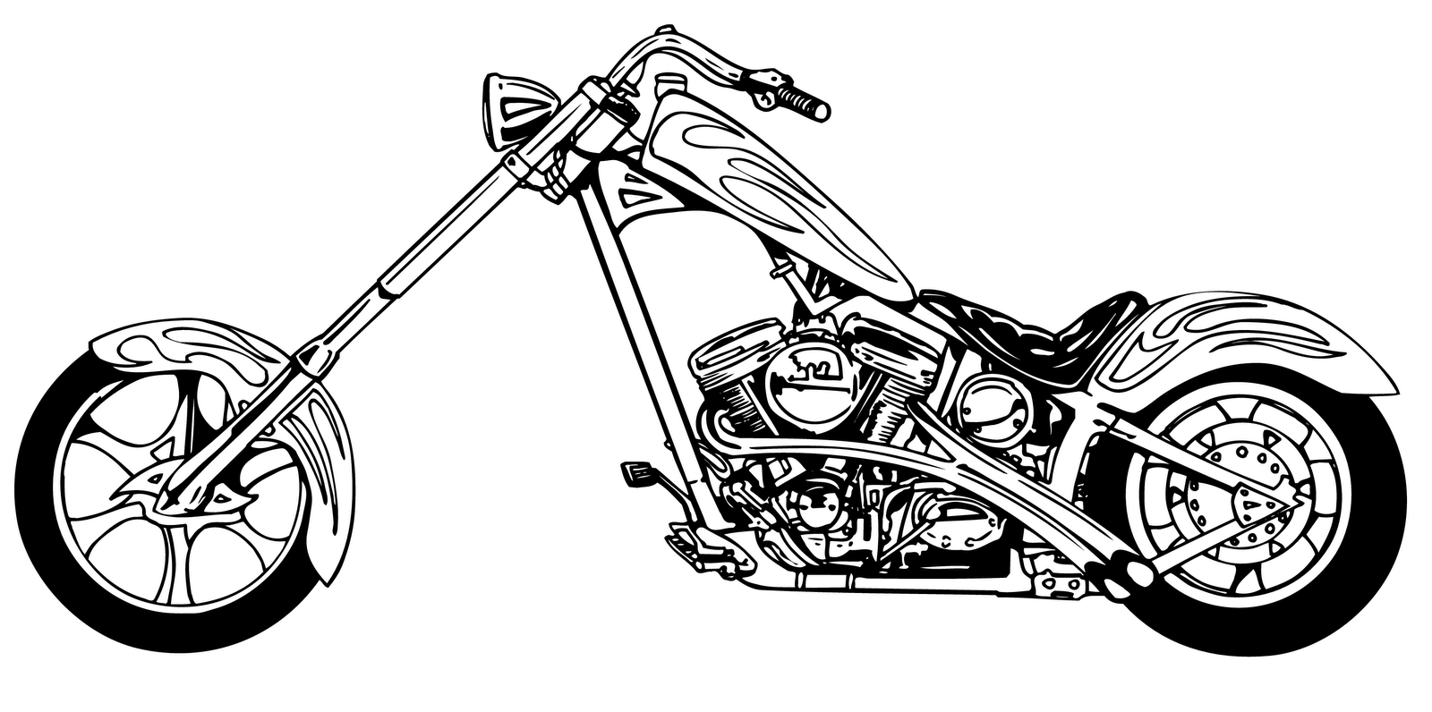 Motorcycle Black And White Free Motorcycle Clipart Clip Art Pictures Graphics 2 Clipartbarn Bike Drawing Motorcycle Clipart Motorcycle Drawing