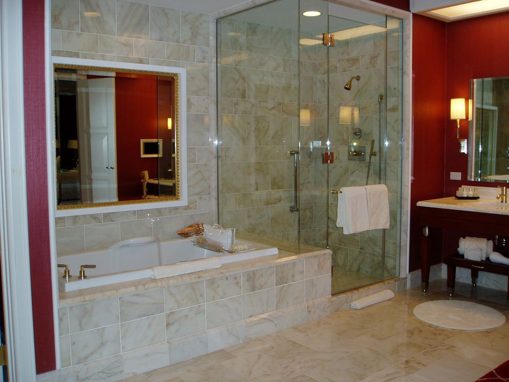 Wynn Las Vegas Tower Parlor Room Bathroom Luxury Hotel Bathroom