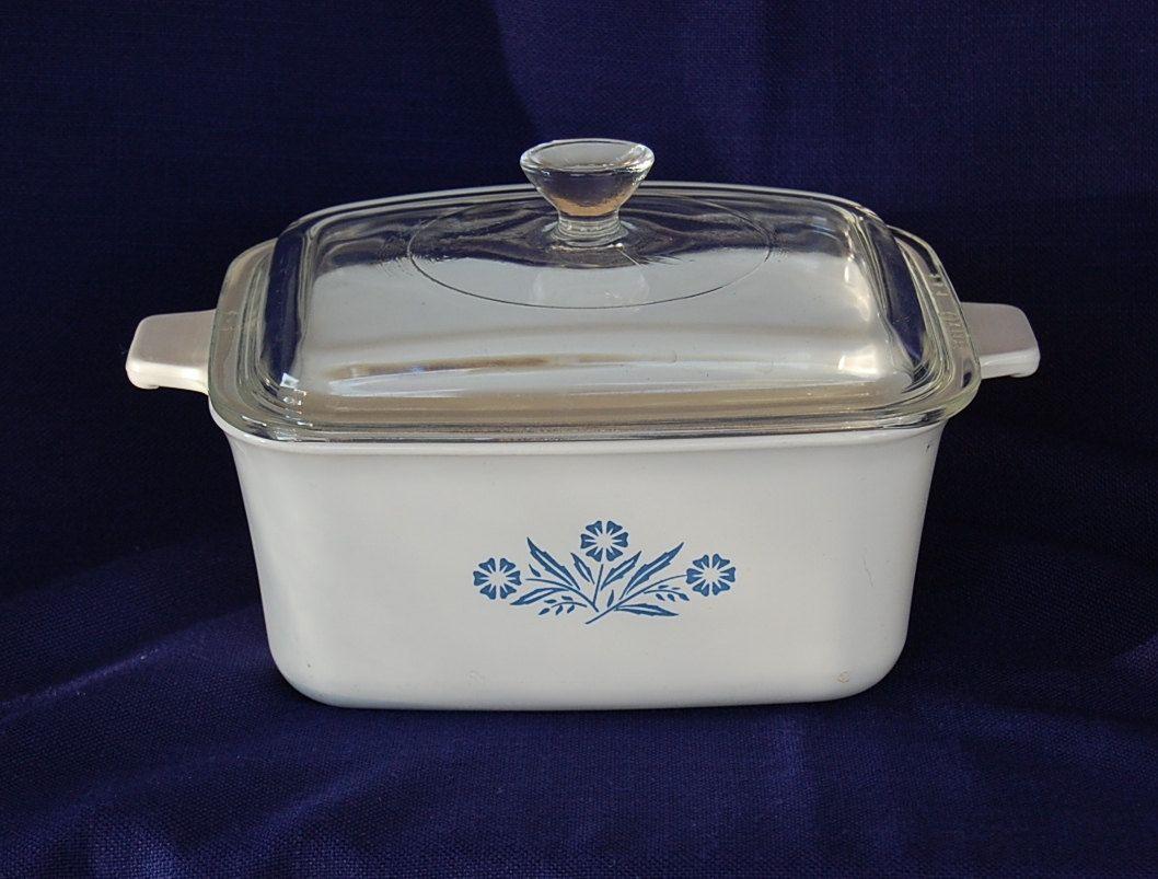 Want Vintage Corning Ware Cornflower Blue Rectangular
