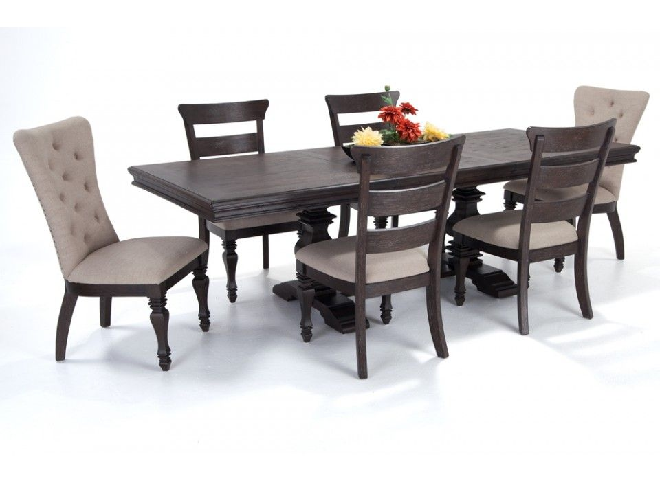 27++ Riverdale 7 piece dining set with upholstered chairs Trend