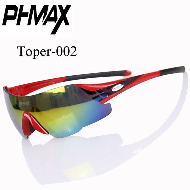 8e94fc3ada PHMAX Brand Ultralight 23g Colorful Sports Cycling Sunglasses Mountain Bike  Goggles Riding Bicycle Glasses