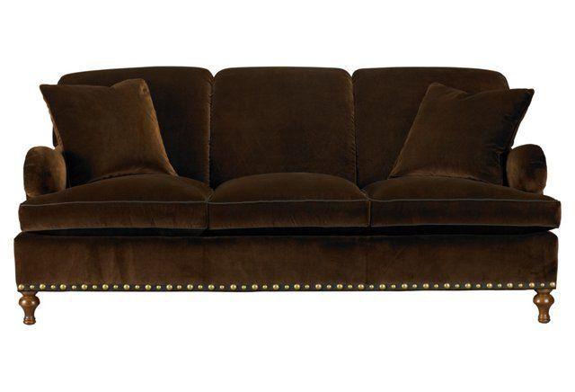 Bridgewater 75 Sofa Chocolate My Sofa But Upholstered In