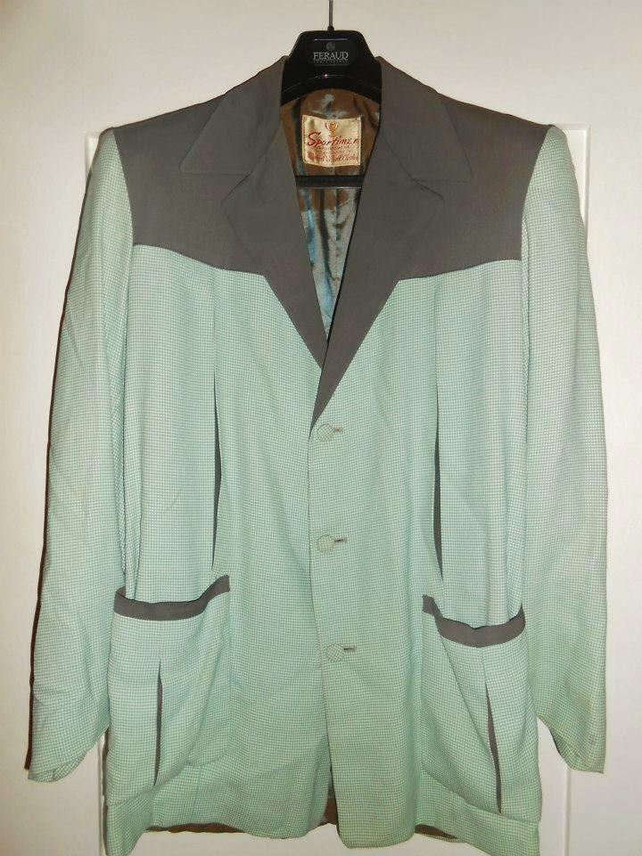 50s Hollywood jacket - label Sportimer