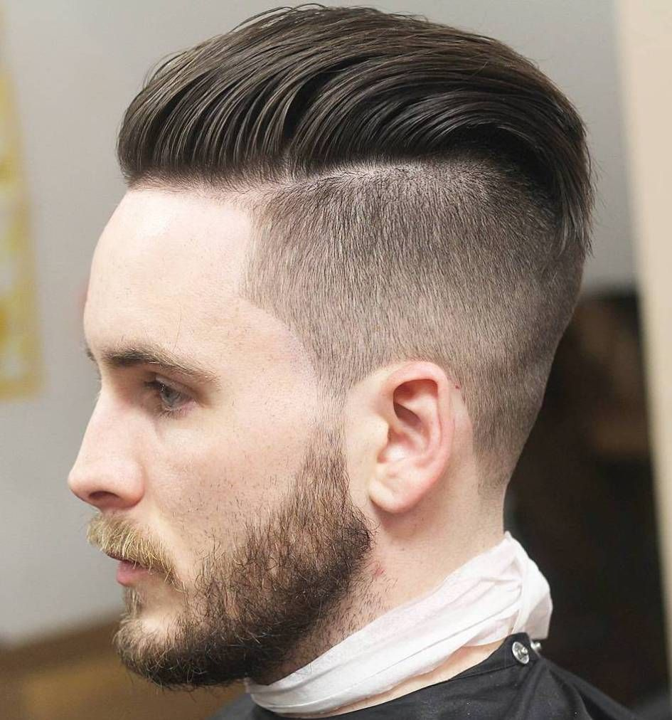 Haircuts for men with widows peak  statement medium hairstyles for men  undercut medium hairstyle