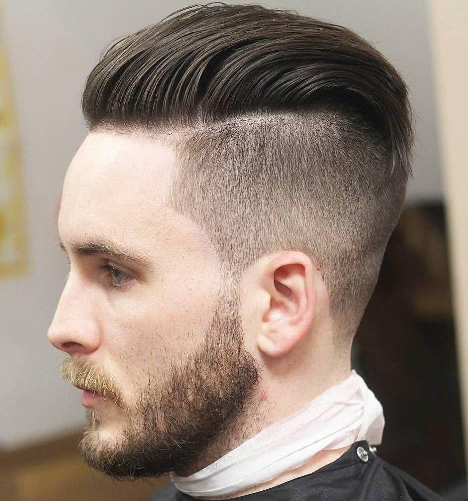 Mens fade haircut styles  statement medium hairstyles for men  undercut medium hairstyle