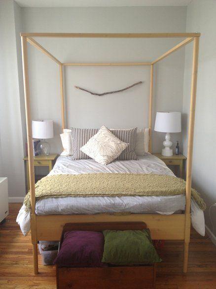 Full Size Ikea Hemnes 4 Poster Bed Amp Slats Bed Slats