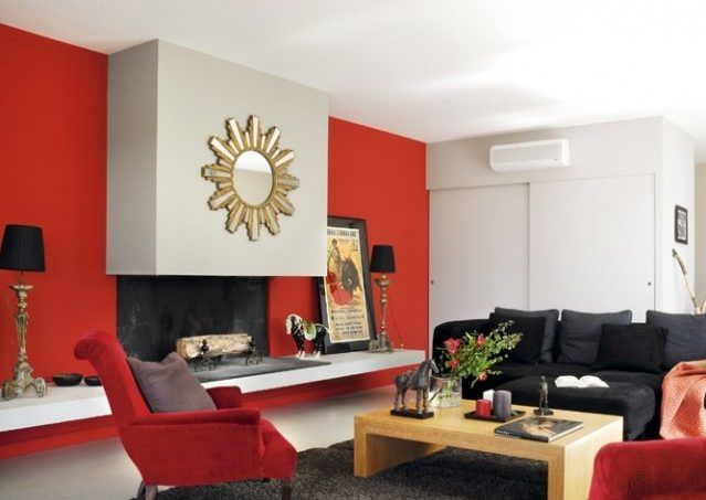 decorar saln en rojo consejos e ideas hoylowcost
