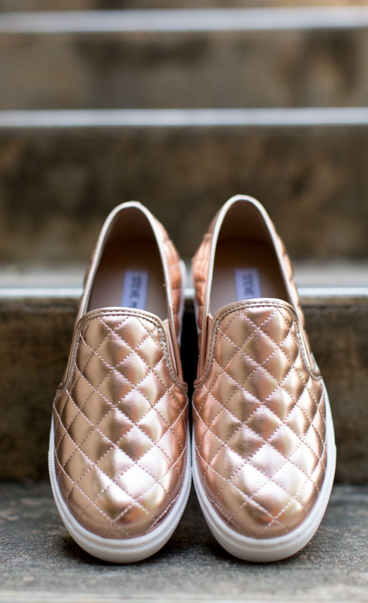 Steve Madden - Shoe - Steve Madden Ecentrcq Sneaker - Rose Gold - Cheeky  Peach Boutique